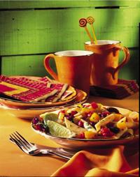 Latin-Style Pasta & Beans