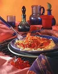 Spicy Shrimp Puttanesca