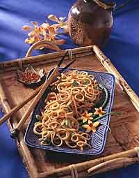 Thai-Style Warm Noodle Salad
