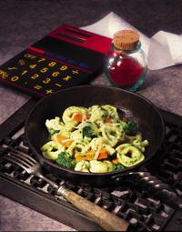 Skillet Pesto Tortellini