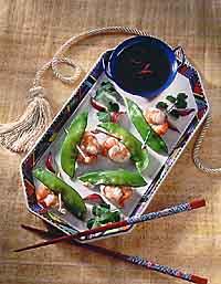 Shrimp in Pea Coats