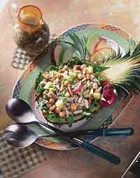 Pineapple Crab Salad