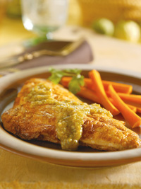 Fillets with Mole Verde