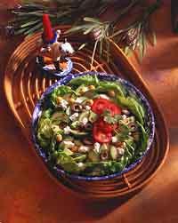 Zesty Zucchini-Chick Pea Salad