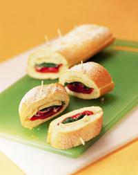 Stuffed Party Baguette