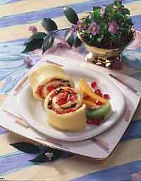 Fancy Swiss Omelet Roll