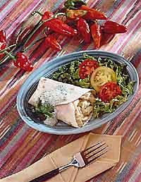 Chicken & Chile Chimichanga