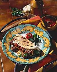 Italian Sausage & Pepper Pita Wraps