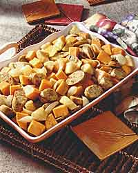 Sweet and Savory Sausage Casserole