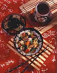 Vegetable-Tofu Stir-Fry