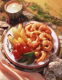 Honey-Dijon Grilled Shrimp