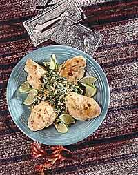 Southwest Chicken with Cilantro Salsa