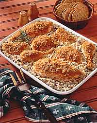 Oven Chicken & Rice