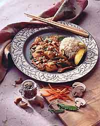 Lemon Cashew Chicken Stir-Fry