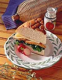 Chicken & Spinach Muffuletta