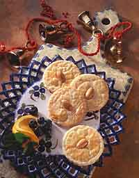 Orange-Almond Sables