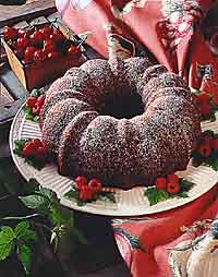 Double Chocolate Bundt Cake