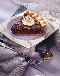 Turtle Pecan Pie