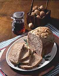 Maple-Walnut Bread
