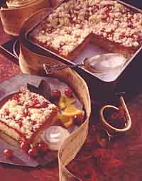 Cranberry Streusel Coffeecake