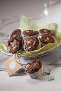 Mocha-Macadamia Nut Muffins