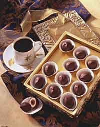 Double-Chocolate Coffee Balls