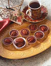 Caramel-Nut Chocolate Cups