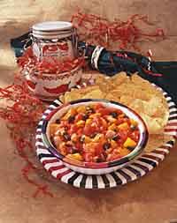 Roasted Pepper & Tomato Salsa