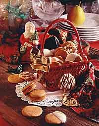 Slice 'n' Bake Ginger Wafers