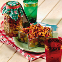 Cranberry-Orange Snack Mix