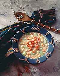 Navy Bean Bacon Chowder