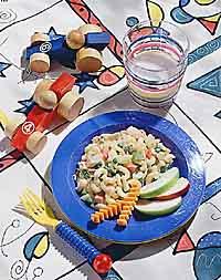 Veggie Mac and Tuna