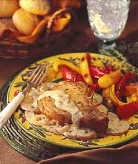 Barbara's Pork Chop Dinner