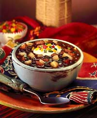 Fiesta Black Bean Soup