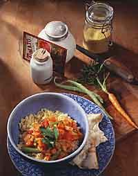 Spicy Vegetable Stew