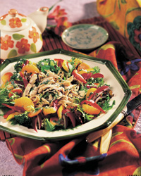 Mandarin Turkey Salad with Buttermilk-Herb Dressing