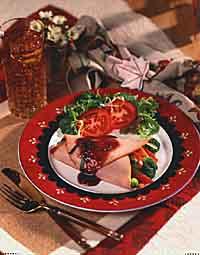 Smoked Turkey Wrap