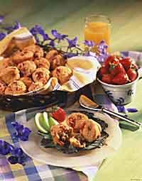 Strawberry Oat Mini Muffins