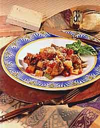 Basil Pork and Green Bean Stew