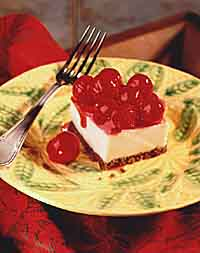 Chilled Cherry Cheesecake