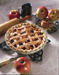 Apple & Cherry Pie