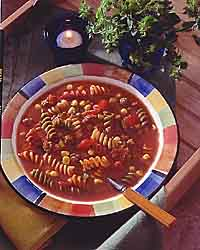 Sausage Vegetable Rotini Soup