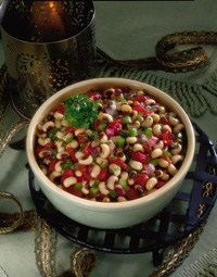 Marinated Black-Eyed Pea and Tomato Salad