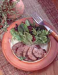 Blackberry-Glazed Pork Medallions