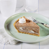 Mocha Cappuccino Ice Cream Pie