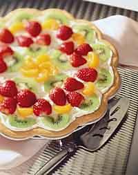 Sugar Cookie Fruit Tart