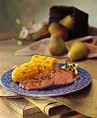 Southwest Roasted Salmon & Corn