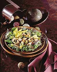 Warm Chutney Chicken Salad