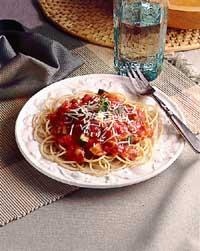 Speedy Spaghetti with Sausage