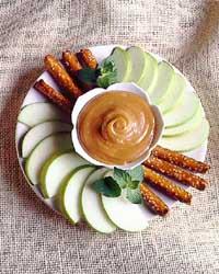 Warm Peanut-Caramel Dip